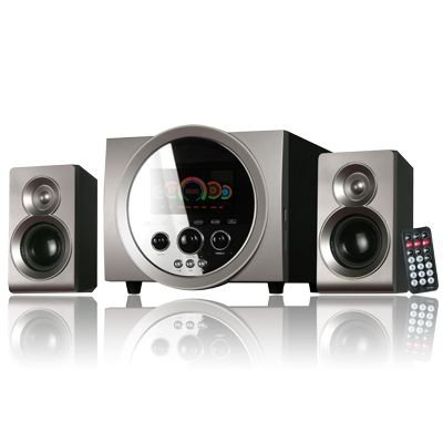 CAIXA DE SOM LD-CSV2720 C/ CONTROLE/BLUETOOTH/FM/USB/SD CINZA LENDEX BIVOLT