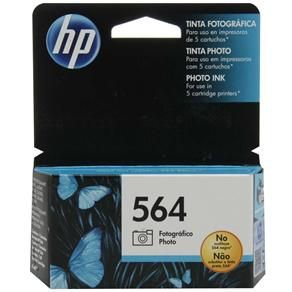 CARTUCHO HP CB317WL TINTA FOTOGRAFICO PRETO(4 ML) HP564