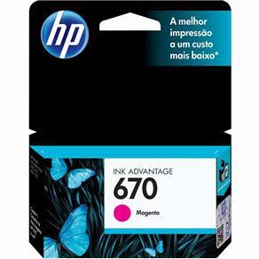 CARTUCHO HP CZ115AB TINTA MAGENTA (4 ML) HP670