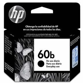 CARTUCHO HP EVERYDAY CC636WB 60B TINTA PRETO(4,5 ML) HP60B