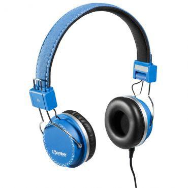 FONE DE OUVIDO HEADPHONE BOMBER HB02 QUAKE BLUE/ AZUL