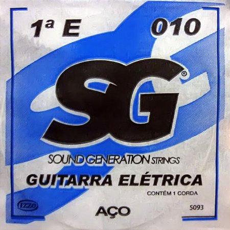 """ENCORDOAMENTO P/GUITARRA (010) AVULSA 1A """"E"""" SG5093 SG"""