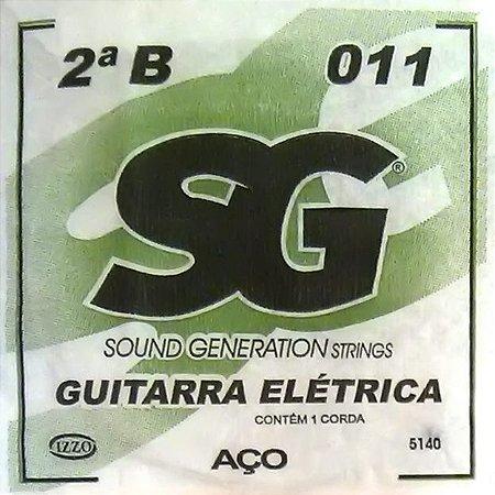 "ENCORDOAMENTO P/GUITARRA (009) AVULSA 2A ""B"" SG5140 SG"
