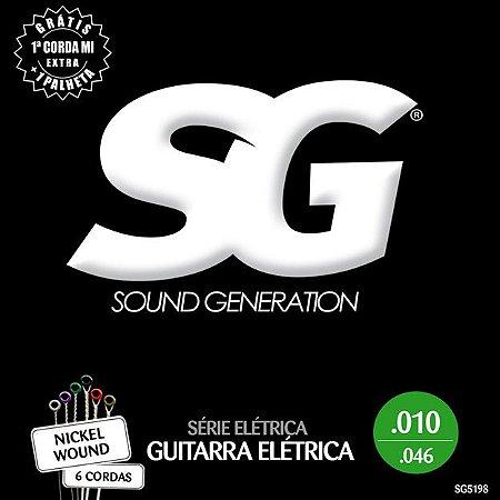 ENCORDOAMENTO P/GUITARRA (010) - SG5198 SG
