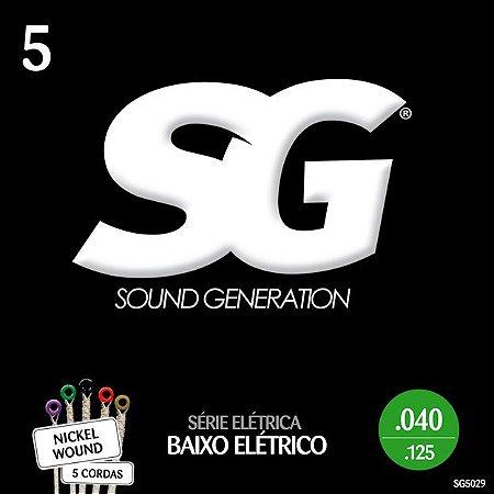 ENCORDOAMENTO P/BAIXO 5 CORDAS (040) - SG5029 SG