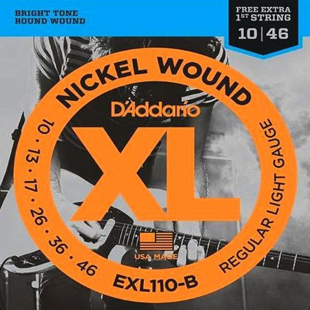 ENCORDOAMENTO P/GUITARRA (010) EXL110-B D ADDARIO