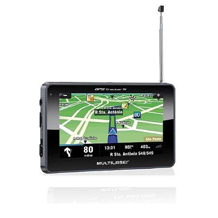 "GPS 4,3"" TRACKER III C/ TV+FM GP034 MULTILASER"