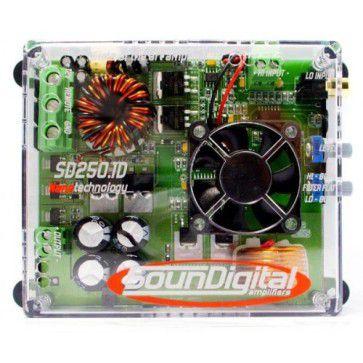 MODULO SOUNDIGITAL SD250.1D 250W 1 CANAL