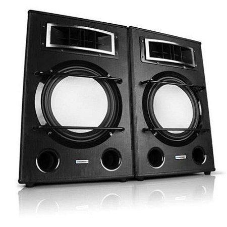 CAIXA AMPLIFICADA BP-2000 BLAUPUNKT FM/ USB/ SD 500W BIVOLT