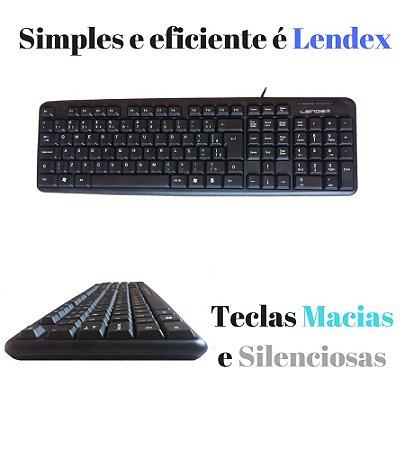 TECLADO PADRAO ABNT2 USB LD-TC8136 LENDEX
