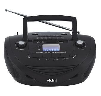 RADIO AM/FM/USB/SD/MP3 VC5050 VICINI BIVOLT