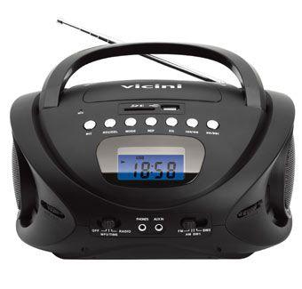 RADIO AM/FM/USB/SD/MP3 GRAVADOR VC5060 VICINI BIVOLT