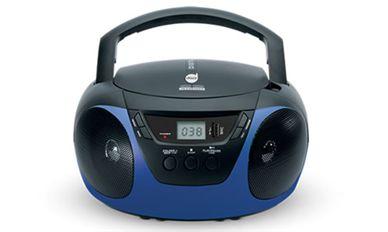 RADIO PORTATIL 2W/RMS CD-USB-AM-FM-ENT.AUX-MP3  BIVOLT DAZZ