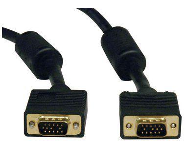 CABO VGA 15 PINOS P/MONITOR/TV 5 METROS PLUS CABLE