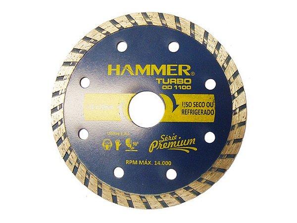 DISCO DIAMANTADO TURBO HAMMER 110X7X20MM