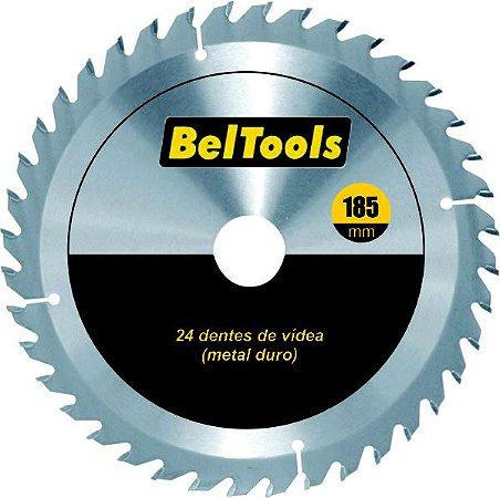 DISCO CIRCULAR VIDEA 24 DENTES 185X20MM BELTOOLS