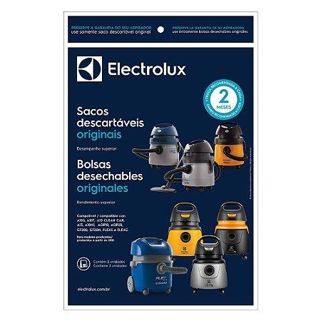 SACO DESCARTAVEL ASP. ELECTROLUX A10/A10S/FLEX  (MODELO NOVO) ORIGINAL