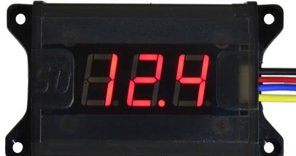 VOLTIMETRO DIGITAL SOUNDIGITAL VM-1 -12V E 24V