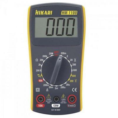 MULTIMETRO HIKARI HM1100 DIGITAL AM/CZ