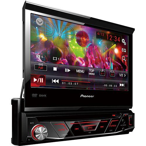 "RADIO DVD PIONEER AVH-3880DVD 7"" RETRATIL MP3//USB/AUX"
