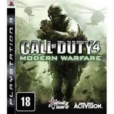 JOGO CALL OF DUTY MODERN WARFARE 4 PS3