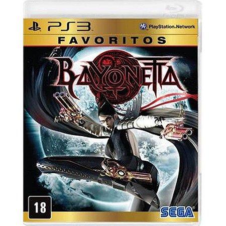 "JOGO BAYONETTA ""FAVORITOS"" PS3"