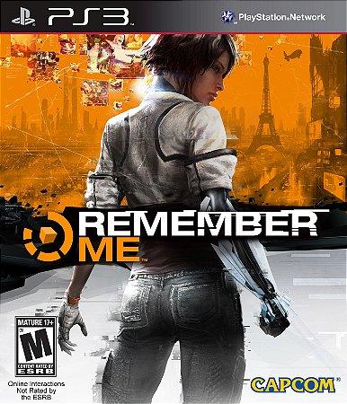JOGO REMEMBER PS3
