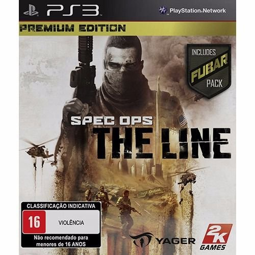 JOGO SPEC OPS THE LINE PS3