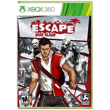 JOGO ESCAPE DEAD ISLAND XBOX 360