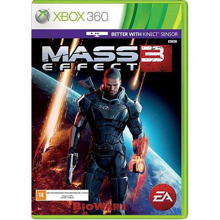 JOGO MASS EFFECT 3 XBOX 360