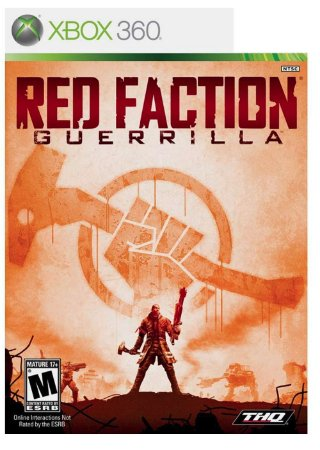 JOGO RED FACTION GUERRILLA XBOX 360