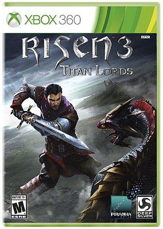 JOGO RISEN 3: TITAN LORDS XBOX 360