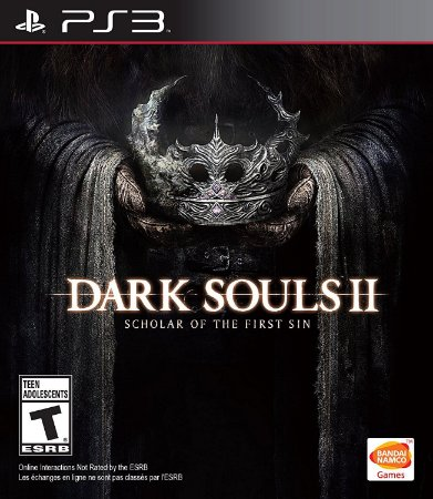 JOGO DARK SOULS 2 SCHOLAR OF THE FIRST PS3