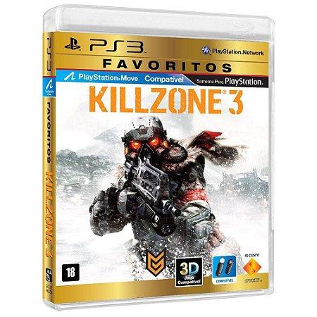 JOGO KILLZONE 3 PS3