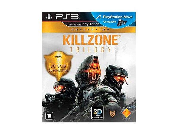 JOGO KILLZONE TRILOGY COLLECTION PS3
