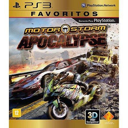 JOGO MOTOR STORM APOCALYPSE FAVORITOS PS3