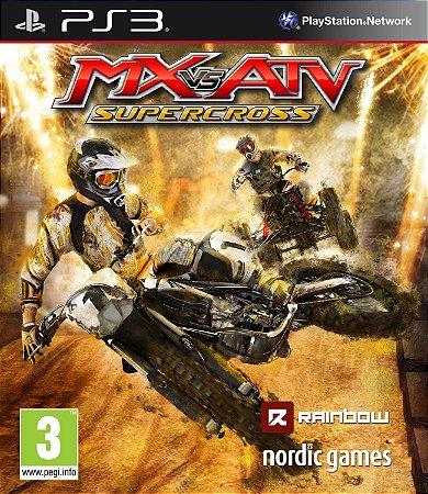 JOGO MX VS ATV SUPERCROSS PS3