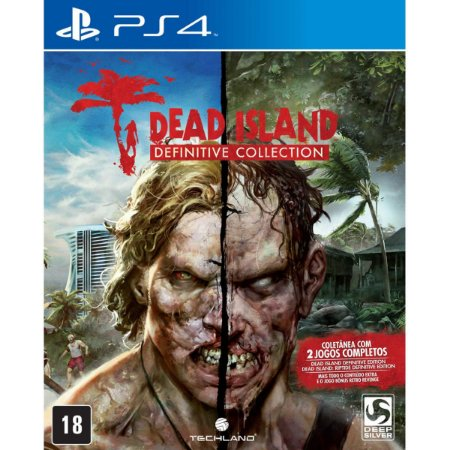 JOGO DEAD ISLAND DEFINITIVE COLLECTION PS4