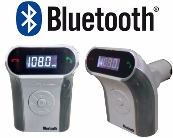 TRANSMISSOR MODULAR VIA FM-USB/SD/MP3 BLUETOOTH - R1590*