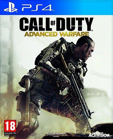 JOGO CALL OF DUTY ADVANCED WARFARE PS4