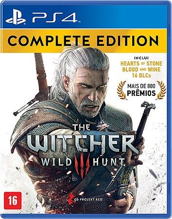 JOGO THE WITCHER III WILD HUNT COMPLETE EDITION NAC-BRA PS4