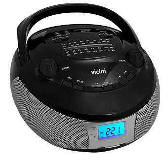 RADIO AM/FM/USB/SD/MP3 RELOGIO VC5055 VICINI BIVOLT