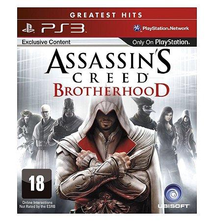 JOGO ASSASSIN.S CREED BROTHERHOOD PS3