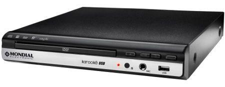 DVD MONDIAL D-15 USB/KARAOKE BIVOLT