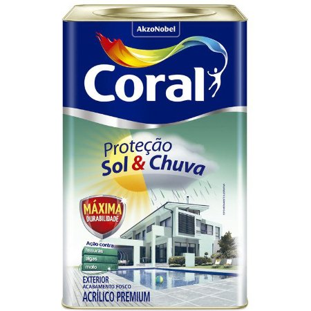 Tinta Emborrachada Sol & Chuva  Branco 18L