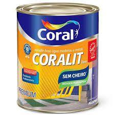"""Coralit Acetinado 3,6L Base d""""água"""