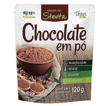 Chocolate em pó diet Stevita