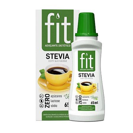 FIT Stevia com Sucralose 65 ml