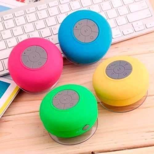 Caixa De Som Bluetooth Sem Fio Aprova Dagua Banheiro !!!