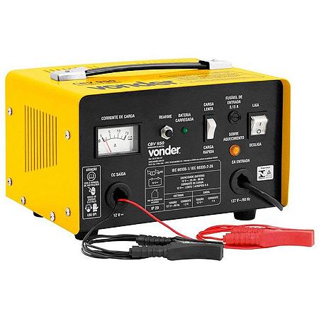 Carregador Bateria Automotivo 12v Cbv950 110v Vonder